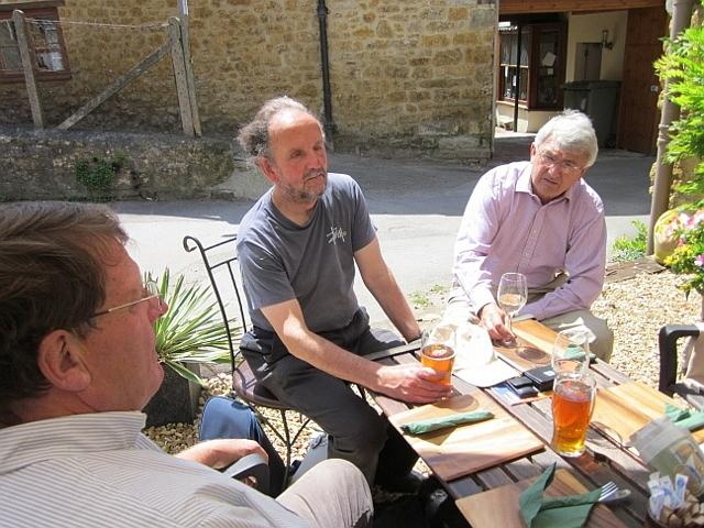 Peter Isaac, Peter Liesching and Edward Lutley. 2011
