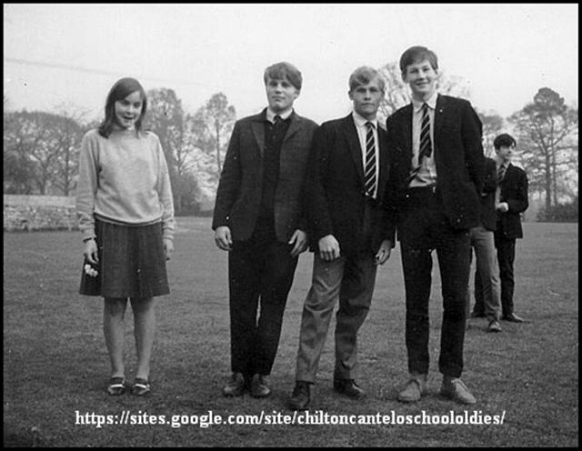 Mary Carslake, Adrian Brooking-Clark, Michael Brake, Nigel Joscelyne & P. Hadjillias. 1966-ish