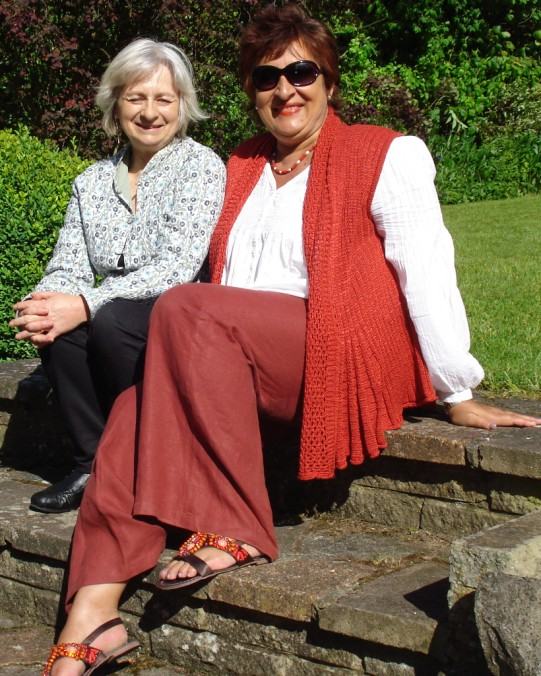 2012 Sue Bollam and me