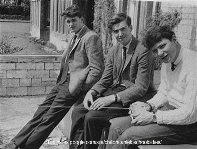 John Luff Garrett Tony Beeston Chilton Cantelo School 1963ish