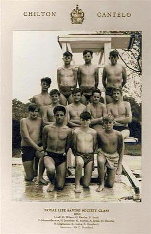 Royal Life Saving Class 1962 – Chilton Cantelo School