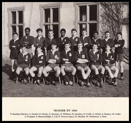 Chilton Cantelo School Rugby XV 1962