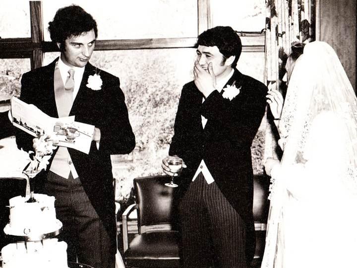 Nick Harris best man speach at Edward and Diana Lutley's wedding