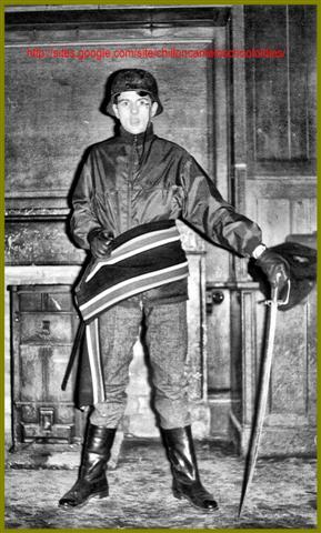 Nick Harris Chilton Cantelo School 1965 – acting Herr Von Speidelheim
