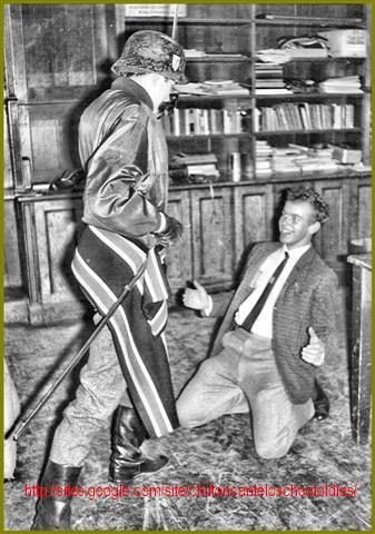 Nick Harris and Roderick Cole Chilton Cantelo School 1965