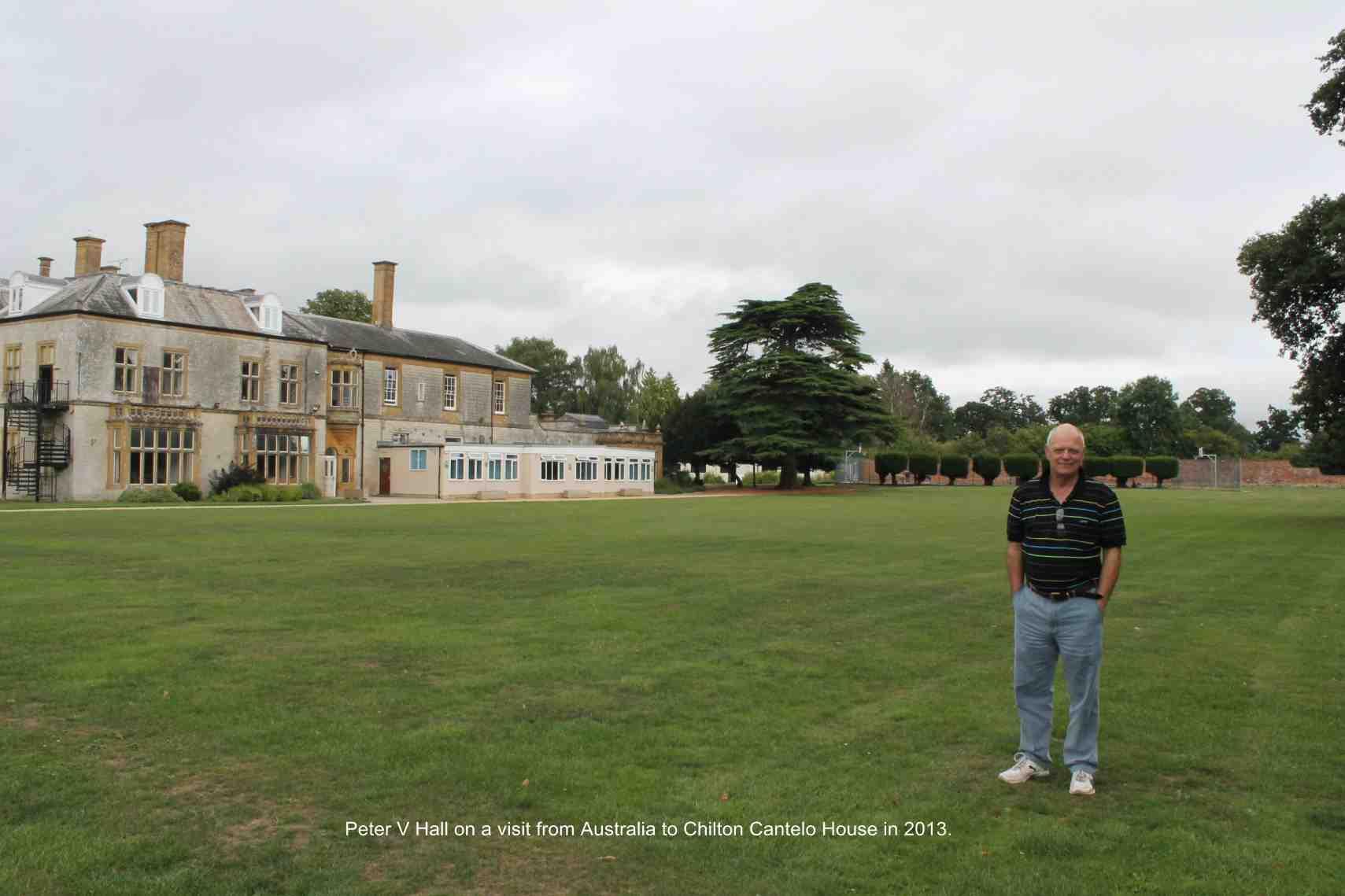Peter V Hall – Chilton Cantelo
